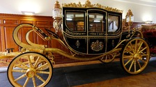 The new Diamond Jubilee state coach celebrates hundreds of years of the nation's history.