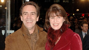 Robert Lindsay and wife Rosemarie Ford in 2007.