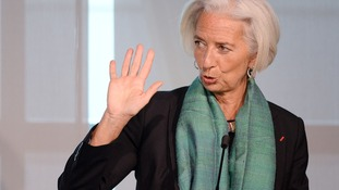 Germany has denied reports it tipped Ms Lagarde for the EC post.