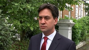 Labour leader Ed Miliband said 'we need a Queen's Speech that rises to the challenge'.