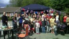 Offerton Mums Group in Stockport had a fantastic street party going on till late into the night. Lots of fun and games for the children !