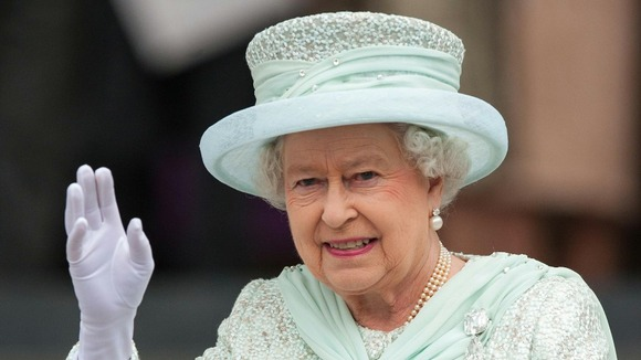 The Queen will be lunching with people from the Midlands today