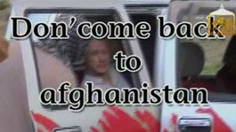 Released Taliban captive Bergdahl arrives in the US