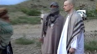 The Taliban has released a video purporting to show Sgt. Bowe Bergdahl being handed over to American custody.