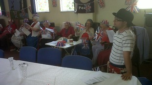 The Salvation Army in Winsford, Cheshire hosted a party