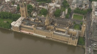 Aerial view of Parliament.