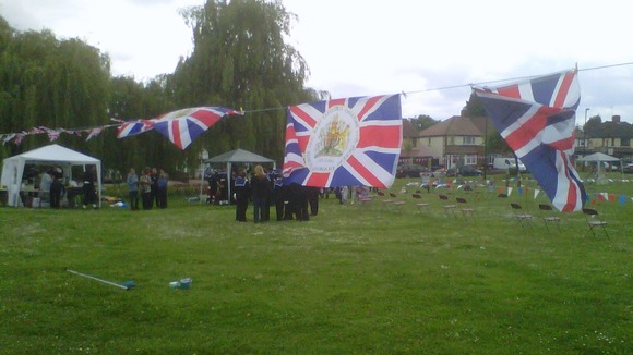 Sea cadets in Enfield.