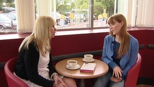 Emma chats about her book with ITV News Anglia's Natalie Gray.