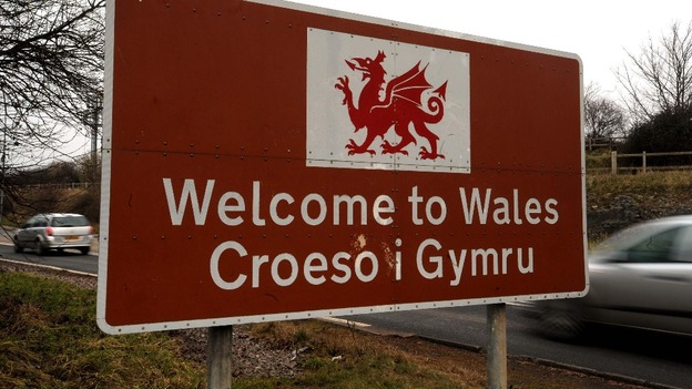 Image result for wales road sign