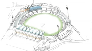 Artist's impression of redeveloped Headingley Cricket Ground