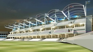 Artist's impression of new North/ South Stand at Headingley