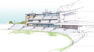 New Pavilion to be built in the North West area of the stadium