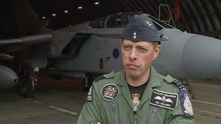 Wing Commander Jez Holmes.
