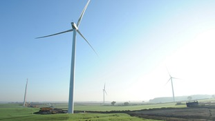Marr Wind Farm in South Yorkshire