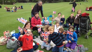 Celebrations at Chatsworth House in Derbyshire