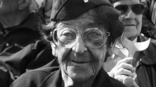 Ellan Levitsky Orkin, 95, volunteered with her sister in the US Army Nursing Corps.