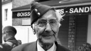John Summerson, 92, Royal Air Force in North Africa and Italy, pictured in Arromanche.