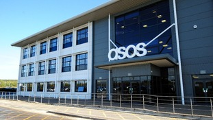 The ASOS distribution centre near Barnsley, South Yorkshire.