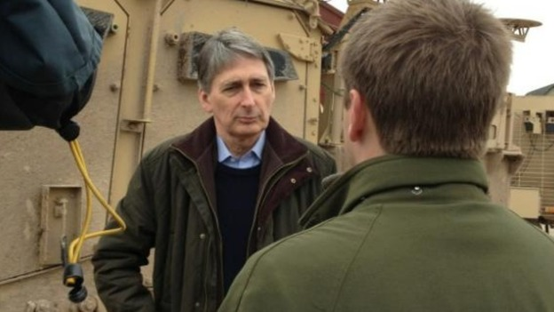 Defence Secretary Phillip Hammond on Afghanistan