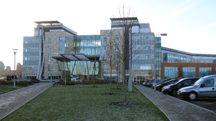 A general view of Peterborough City Hospital in Cambridgeshire