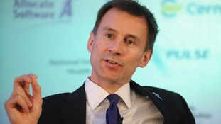 Health Secretary Jeremy Hunt