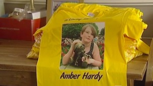 Amber Hardy died despite being vaccinated against meningitis