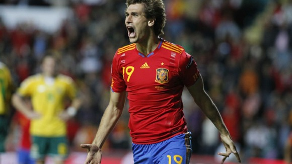 Spain striker Fernando Llorente.