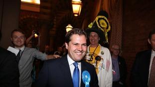 Robert Jenrick elected in Newark