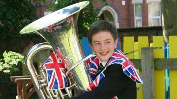 Harry Smith will play in front of the Queen with his orchestra today