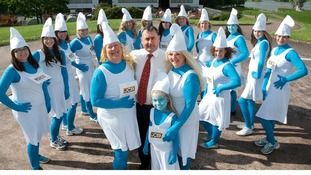 'JCB Smurfmovers' aiming to raise thousands in memory of colleague