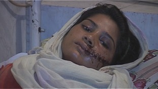 'Miracle' survival of girl shot by family in attempted honour killing in Pakistan
