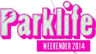 Pink poster for Parklife Weekender