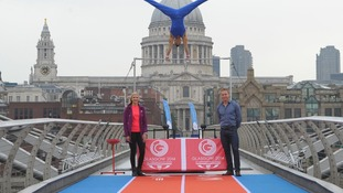 Olympic athletes and 2014 Commonwealth Games ambassadors Rebecca Adlington, Louis Smith and Sir Chris Hoy