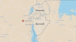 South Kivu lies close to the borders with Burundi and Rwanda.