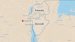 South Kivu lies close to the borders with Burundi and Rwanda.