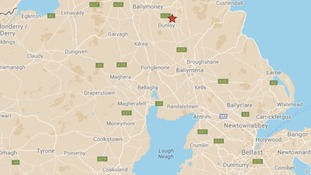 The boy died after an incident on a farm in Dunloy, County Antrim.