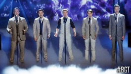 Operatic boy band Collabro win Britain's Got Talent 2014