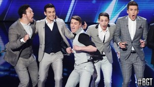 Collabro's transformation from nervous auditionees to Britain's Got Talent 'Stars'