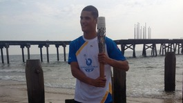 Queen's Baton Relay arrives in Suffolk