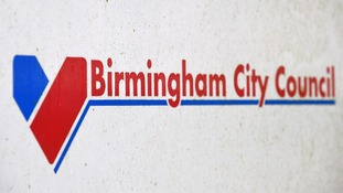 File photo of Birmingham City Council sign.