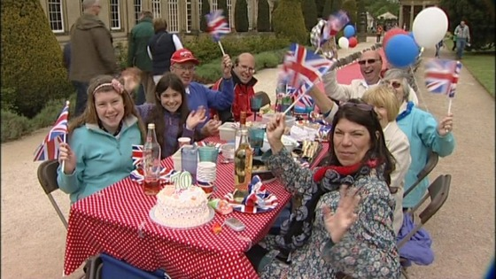 A right royal tea party for The Queen