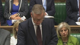 Michael Gove speaking in the House of Commons.