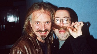 Rik Mayall and Ben Elton pictured in 1999.