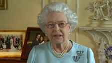 The Queen delivers her Diamond Jubilee message