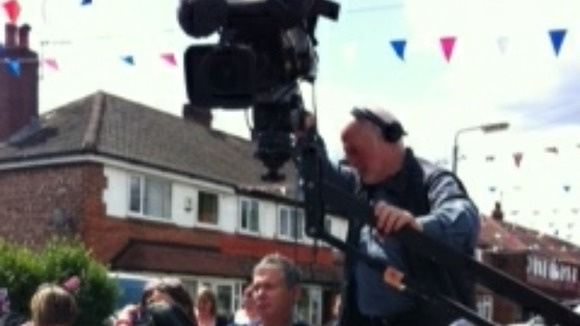 Our crew film at Noreen Avenue