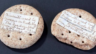 The bidding for the biscuits, which have survived some of the bloodiest battles of WWI, will start at £60.