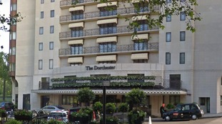 The Dorchester Hotel on Park Lane
