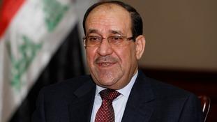 Iraq's Prime Minister Nouri al-Maliki.