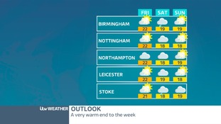OUTLOOK: Cloudy Saturday, brighter Sunday