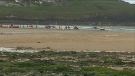 Beach ban will force swimmers out of Newquay's waters